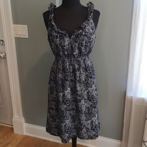Banana Republic silk dress size 14